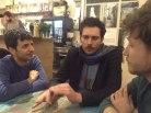 Andrea Falcone, Alessio Martinoli e Giacomo Bogani - Notte Bianca 2015