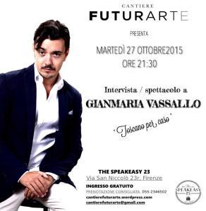 27 Ottobre Gianmaria Vassalo